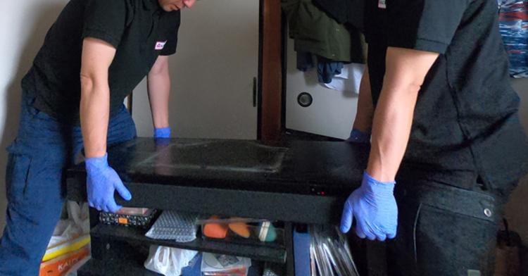 遺品整理やお部屋の片付け作業開始